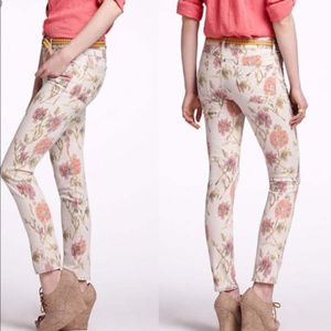 Pilcro and the letterpress floral jeans for Anthro
